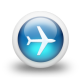 glossy-3d-blue-plane-icon